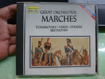 Great Orchestral Marches Tchaikovsky CD