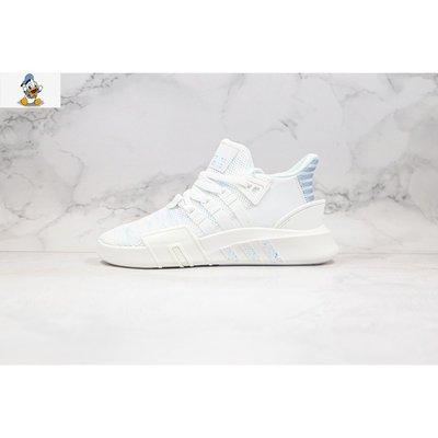 【唐老鴨】Adidas EQT BASK ADV 白藍色 休閒運動跑步鞋 男女款 EE5049