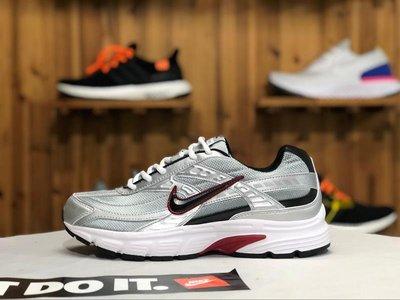 Nike Initiator Running 銀紅 經典 復古 運動老爹鞋 慢跑鞋 394055 001 情侶款