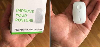 美國Upright GO2智能坐姿矯正器預防駝背近視手機APP震動提醒
