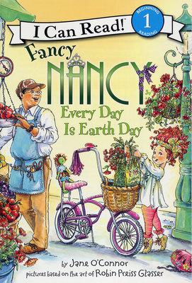 *小貝比的家*FANCY NANCY: EVERY DAY IS EARTH DAY /L1/地球日/平裝書/3~6歲