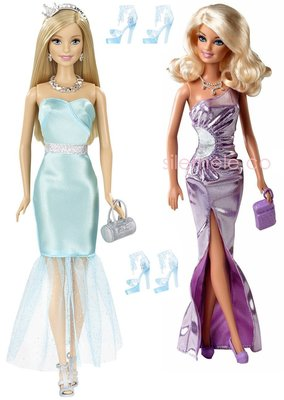 ♥萌娃的店♥ 可兒娃娃 芭比娃娃 衣服 服飾 禮服 套裝 Doll Dress Evening Gown