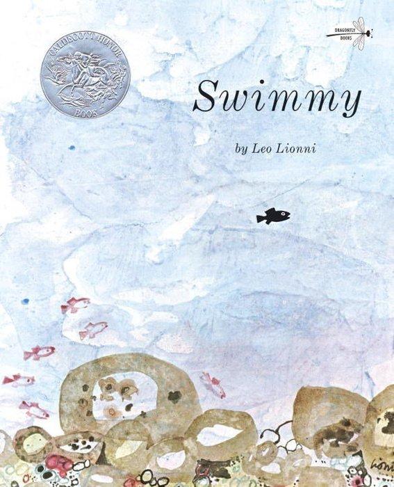 *小貝比的家*SWIMMY《小黑魚》/平裝/3~6歲/自我認同/得獎繪本/美國凱迪克