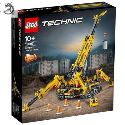 九州動漫 LEGO樂高 42097 精巧型履帶起重機 機械科技組 益智玩具 拼插積木