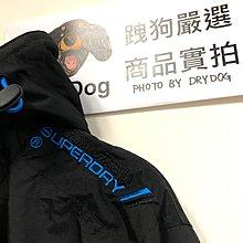 超級藍藍路 跩狗嚴選 極度乾燥 Superdry Arctic 經典款 三排拉鍊 風衣 外套 刷毛保暖 黑藍