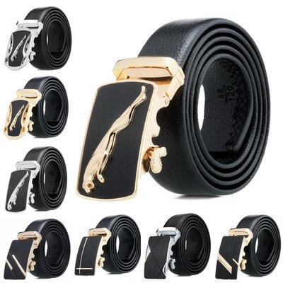 YOYO的賣場Mens casual belt alloy buckle all-inclusive belt lychee 皮帶