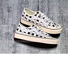 Vans Style 36 Decon SF 黑 白 紫 棋盤 半月 包頭 帆布 經典 復古 格子 情侶 ~美澳代購~