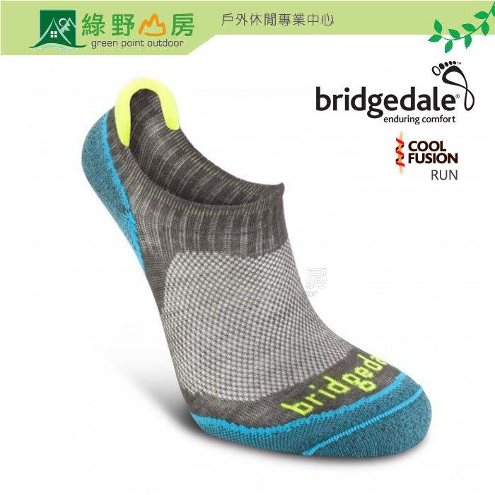 綠野山房》Bridgedale英國 女 Na-Kd 排汗運動襪 輕薄超低筒機能襪 慢跑襪跑步襪 灰 612690-801