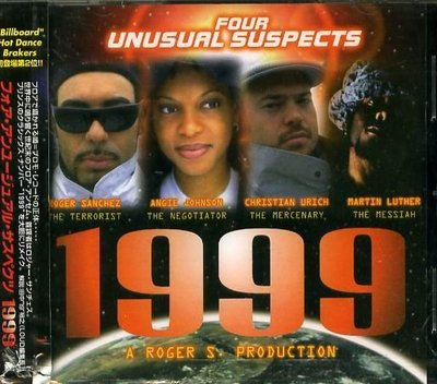 K - FOUR UNUSUAL SUSPECTS - 1999 - 日版 +2BONUS