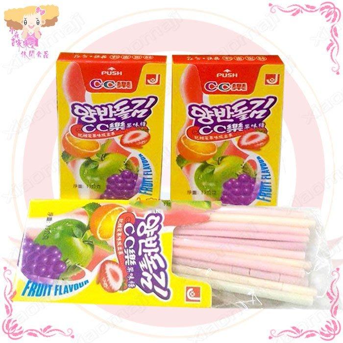 ☆小麻吉家家愛☆ cc樂果味糖(全素)24盒一排特價125元 聖誕節萬聖節糖果 棒棒糖