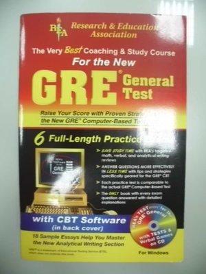 6980銤:A7-3☆2004年『The Very Best Coaching & Study Course For the New GRE General Test(附光碟)』
