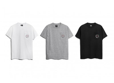 { POISON } LESS LESS IS MORE CIRCLE POCKET TEE 嗆辣紅椒靈感 口袋TEE