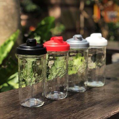 ☘小宅私物 ☘ 美國 Ball 梅森玻璃罐 24oz + reCAP 飲料隨行杯組 (4色) 環保飲料杯 現貨 附發票
