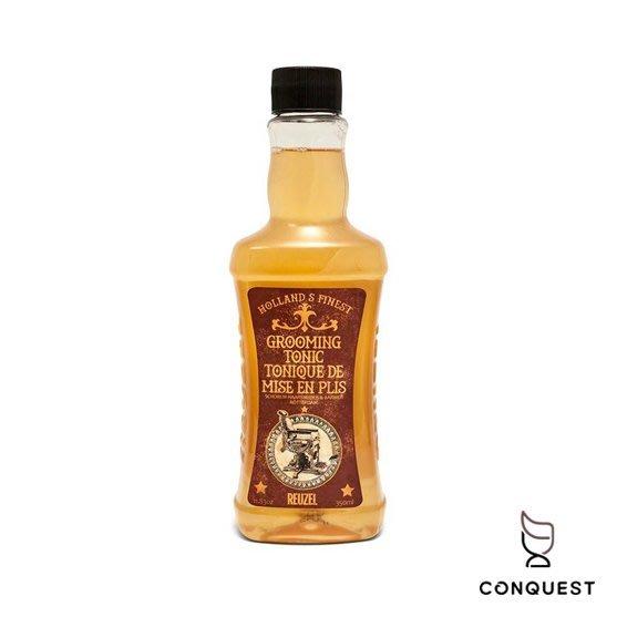 【 CONQUEST 】Reuzel Grooming Tonic 順髮液 熱塑打底吹整 蓬鬆感 服貼順髮露 豬油 髮油
