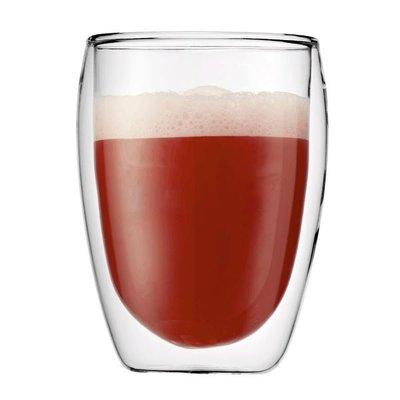 雙層 玻璃杯 中型杯 350ML