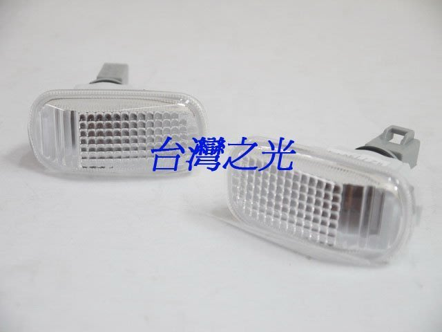 《※台灣之光※》全新HONDA喜美CIVIC七代K10 01 02 03年八代喜美K12高品質原廠型全白側燈組DEPO製