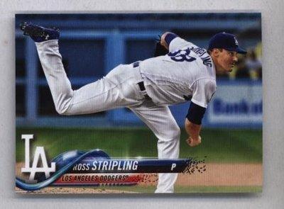 2018 Topps Update #US280 Ross Stripling - Los Angeles Dodgers