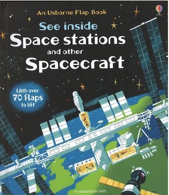 *小貝比的家*SEE INSIDE SPACE STATIONS AND OTHER SPACECRAFT/精裝7~12