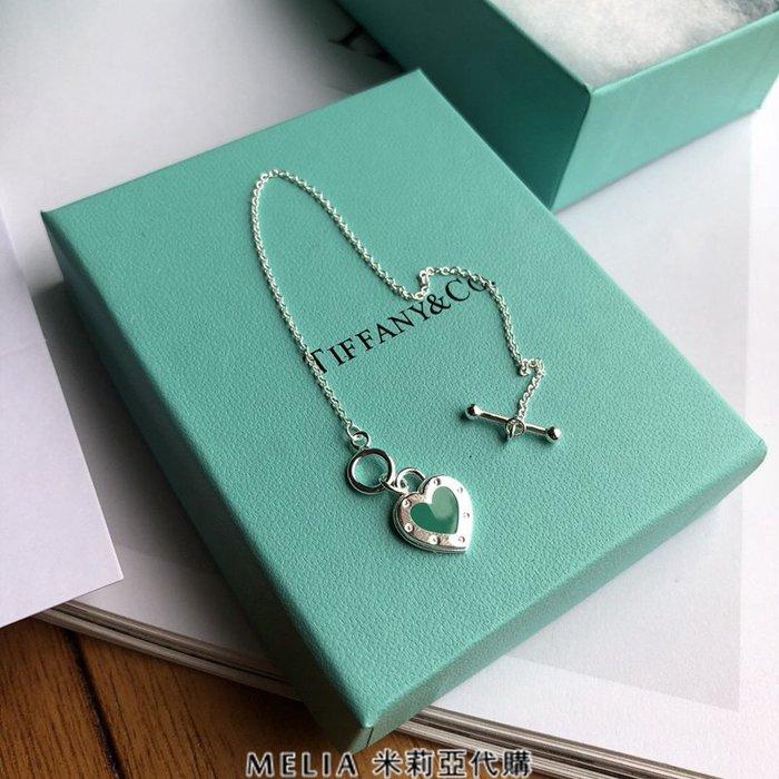Melia 米莉亞代購 Tiffany&Co. 925純銀 2018Sss Tiffany 蒂芙尼 手環 藍色愛心