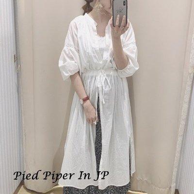 Pied Piper日本代購 CV259 earth music & ecology透涼鏤空長版罩衫