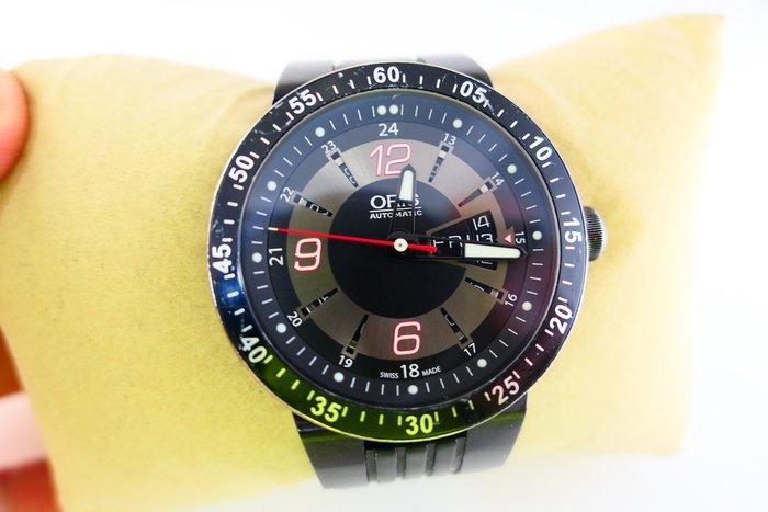 [吉宏精品交流中心]ORIS 豪利時 F1 陶瓷圈 橡膠 自動機械 運動表 男錶(2)