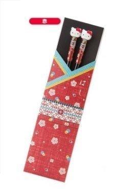 《東京家族》Kitty 和服 和風木筷