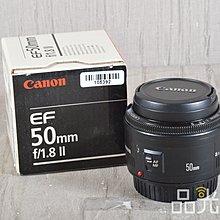 【品光數位】Canon EF 50mm F1.8 II 人像 定焦 標準 大光圈 #105392