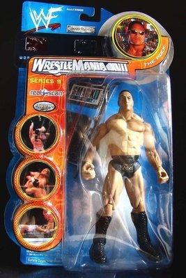 2000 美職摔角 WWF 系列  之  SMACK DOWN! 【 巨石 強森 - THE ROCK 】 魔蠍大帝