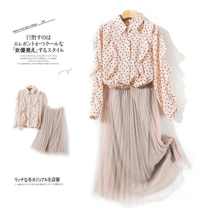 A169 專櫃柔軟2層網紗拼接鬆緊腰修身顯瘦百褶裙蛋糕裙