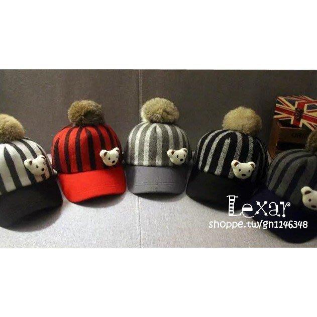 兒童帽子秋冬天男童鴨舌帽韓版潮女童1-4歲寶寶毛呢帽小孩馬術帽