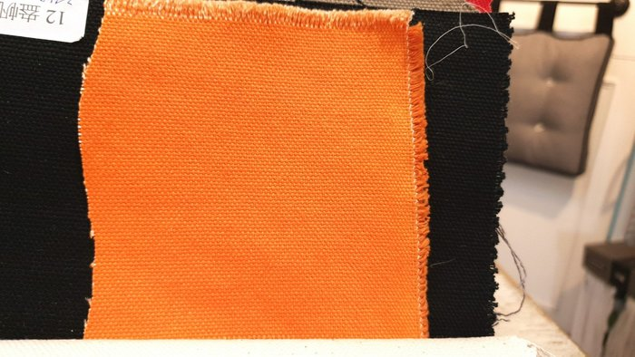 [Y0012-3]布料  12盎帆布 幅寬5尺 40元/尺  橘/水藍/紅鐵灰 三色庫存出清 請詢問庫存 以碼計價