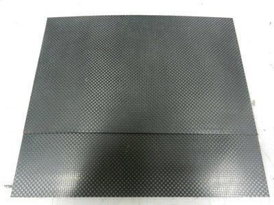 霧面 3K carbon 碳纖 維板 25cm~16cm~0.3mm厚度 可剪可裁 防水 防油