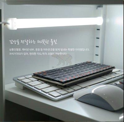 35cm雙色光護眼檯燈 燈管 USB LED燈條 桌燈 小夜燈 宿舍照明燈