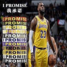 【打折中】NBA湖人詹姆斯同款手環I PROMISE我承諾詹皇籃球運動男女硅膠腕帶。9889      晴天雜貨鋪#9123