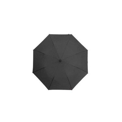 德國[EuroSCHIRM] 全世界最強雨傘 TELESCOPE HANDSFREE / 免持健行傘 小(黑)