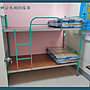 【辦公天地】實用型上下舖單人鐵床架, 承重9...
