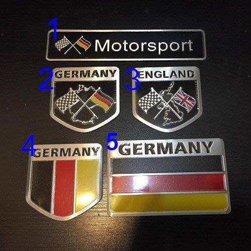 BENZ 德國側標貼 車身貼 W203 W204 W124 W210 W211 W220
