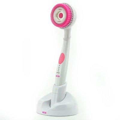 【EC數位】 EXCEED伊珂思 聲波SPA美背按摩洗臉機 (蓮蓬頭式) - 粉紅色