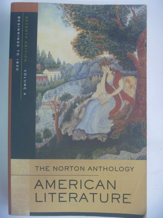 【月界】Norton Anthology of American Literature-Vol. A 〖大學文學〗AJQ
