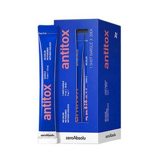 *425【預購】【韓國代購】Antitox天然蜂膠漱口水隨身包 (20包)