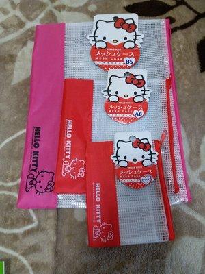 日本  sanrio Hello kitty 文件袋  1 set3 件 65元包郵