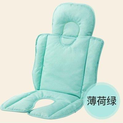 ☜男神閣☞嬰兒車手推車坐墊棉墊四季通用兒童加厚棉質寶寶餐椅靠墊配件春夏