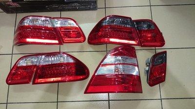 賓士 BENZ  W210 W163 LED 紅黑  尾燈 方向燈 燈殼