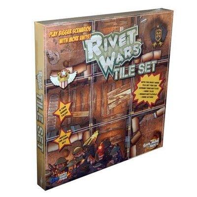 【免運】Rivet Wars 鉚釘戰爭版圖擴 英文桌游【新品】