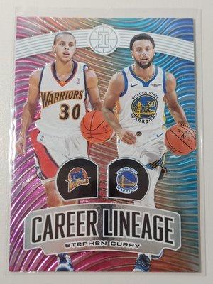 【NBA】(難抽)勇士11年生涯血統特卡,Stephen Curry,2019 illusions Lineage