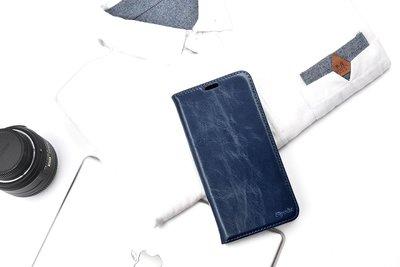 義大利真皮皮革 IPhone XS Max XR 8 7 6s 6 Plus 側翻蓋皮套保護套手機套