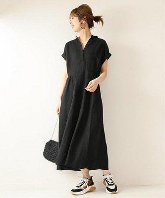 light*salt。日本大牌spick and span。剪裁好。隨性簡約款。50%麻洋裝。連身裙。日本代購。