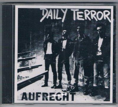 [鑫隆音樂]西洋CD-DAILY TERROR:AUFRECHT / 全新/免競標