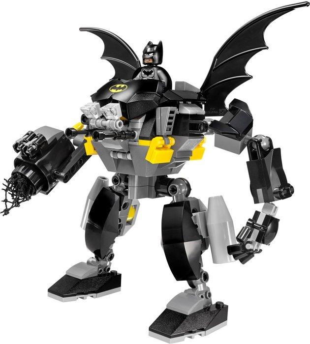 現貨【LEGO 樂高】全新正品 積木 / 超級英雄系列 76026 | 人偶拆賣: 蝙蝠機甲+蝙蝠俠 Batman