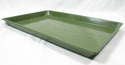 【優比寵物】1.5尺 (1.5呎)(1尺半)摺疊籠/折疊籠專用《綠色》塑膠底盤/便盆/尿盤/屎盤/便溺盤/便盤-優惠價